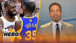 Chris Broussard on Kevin Durant pacing to have a better career than LeBron James   NBA   THE HERD