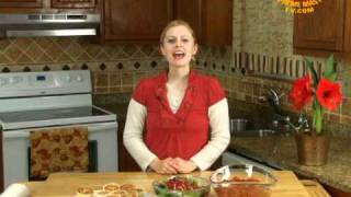 Thankfully Vegan:pumpkin Chili With Cornbread Muffins And Pomegranate Walnut Salad-2
