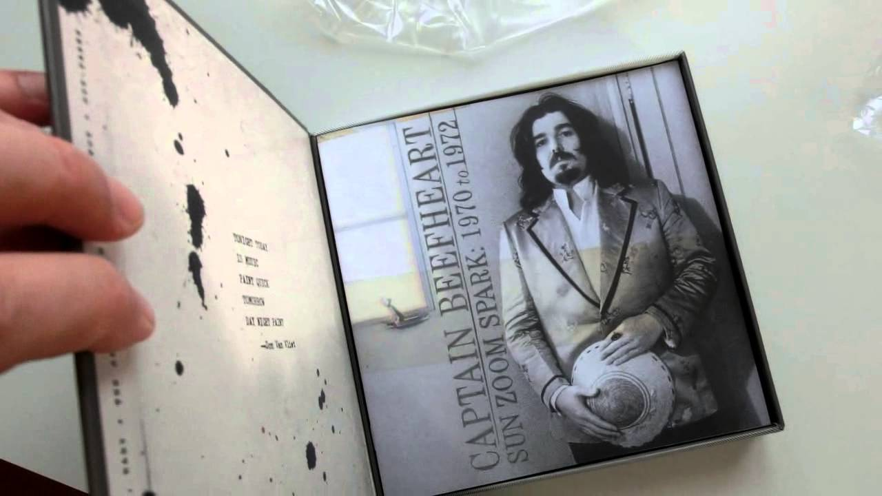 Unboxing The Box Captain Beefheart Sun Zoom Spark 1970 To 1972 Youtube