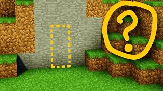 Майнкрафт: Секретная Дверь / Дом В СТЕНЕ - Как построить Редстоун МЕХАНИЧЕСКИЙ ПРОХОД В MINECRAFT thumbnail