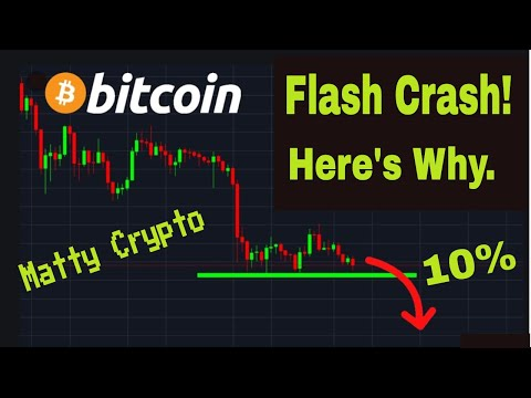 Bitcoin Crashes 10% In Value Today. Here's Why!