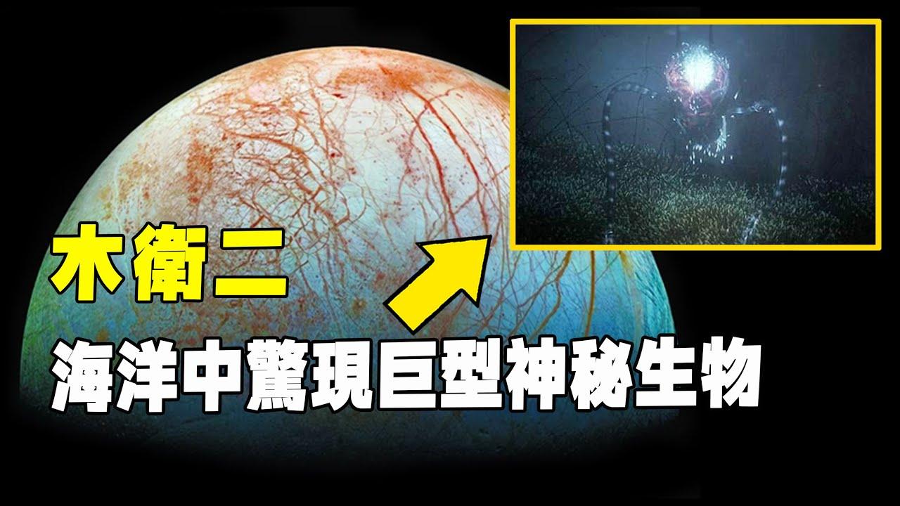 NASA探測器傳回消息,木衛二海洋中發現巨型神秘生物,形似章魚!照片傳回國內轟動科學界!| 腦補大轟炸