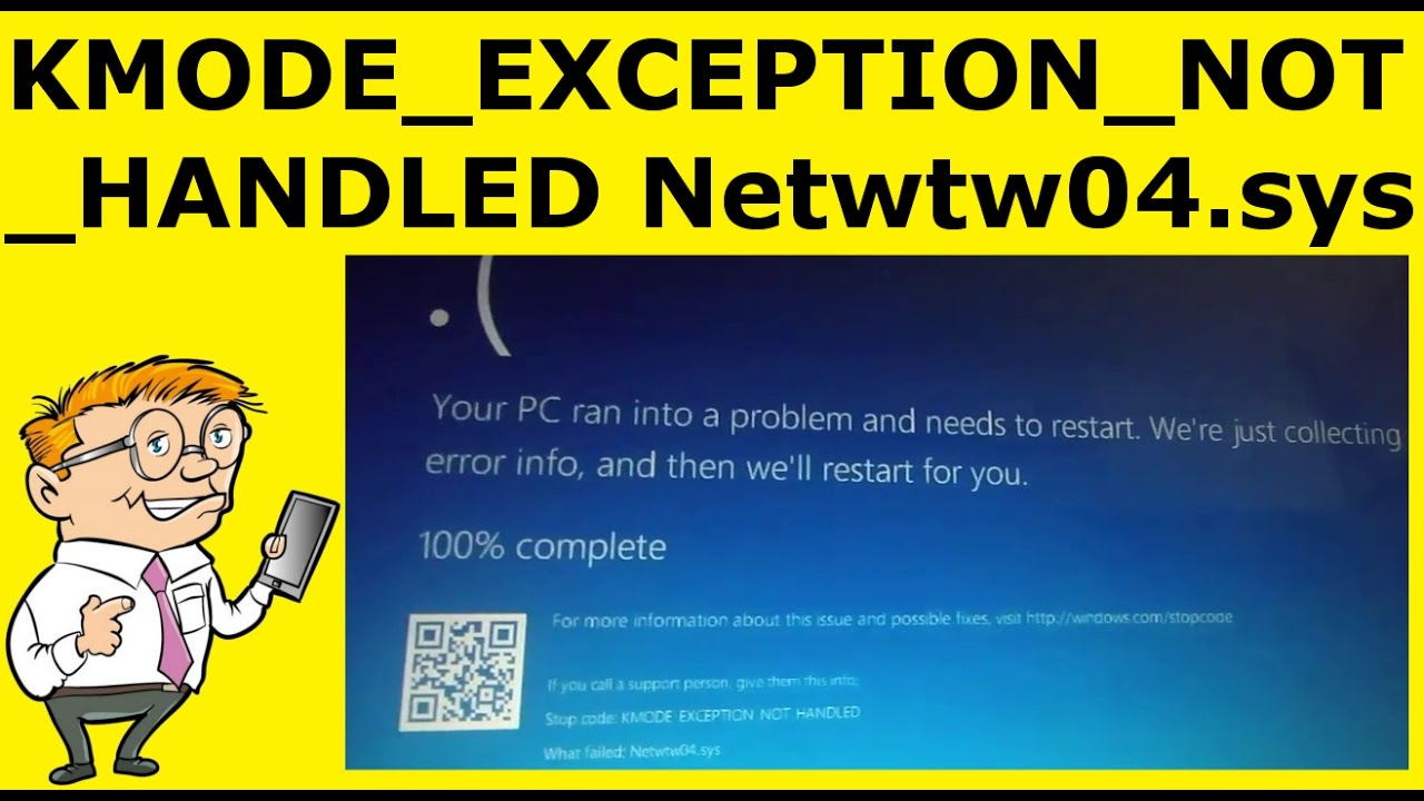 Intel Wireless WiFi Link driver failed KMODE_EXCEPTION_NOT_HANDLED