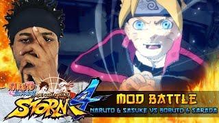 naruto sasuke vs boruto sarada naruto shippuden ultimate ninja storm 4 mods