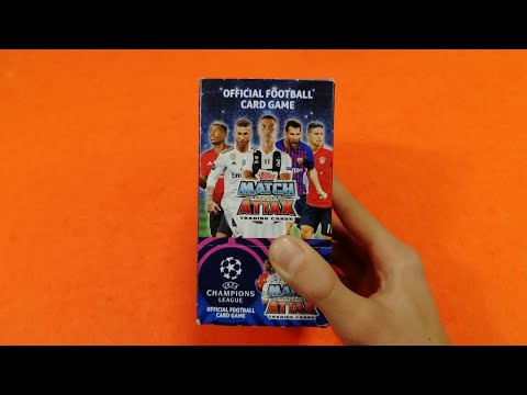 Apertura BOX MATCH ATTAX Champions League 2018-19 Challenge