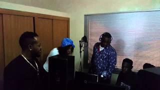 Kuality and Alabi Pasuma's collaboration | #RecordingSession