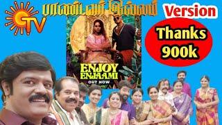 Enjoy Enjaami Pandavar Illam Version / dhee ft. Arivu @Nesan Nepolean Thumb