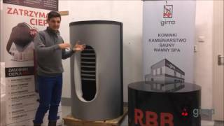 GIRRA - zasobniki ciepła, zasobniki buforowe RBB cz. 3