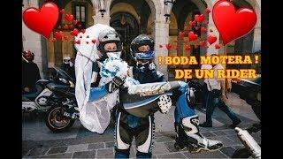 LA BODA DE UN RIDER EN MOTO