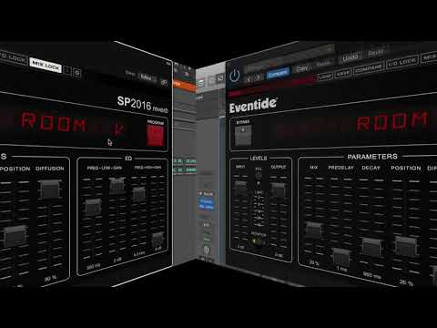 Hear Eventide's new SP2016 Algorithmic Reverb Plug-In in Action
