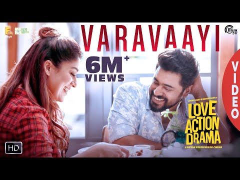 Varavaayi Video Song | Love Action Drama Song | Nivin Pauly, Nayanthara | Shaan Rahman | Official