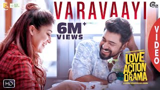 Varavaayi Song | Love Action Drama Song | Nivin Pauly, Nayanthara | Shaan Rahman | Official
