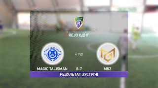 Обзор матча Magic Talisman 8 7 MBZ Турнир по мини футболу в Киеве