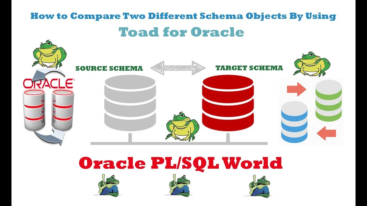 How to Compare two Different Oracle Schema Objects by Using Toad for Oracle