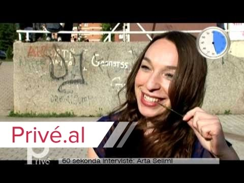 60 SECONDA INTERVISTE - ARTA SELIMI - PRIVE KLAN KOSOVA.mpg