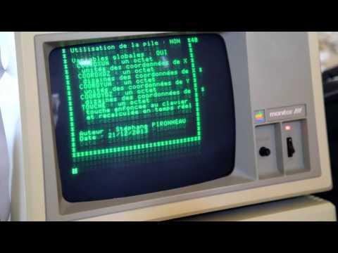 Apple II Festival France 2016 - Initiation à la programmation assembleur sur Apple II