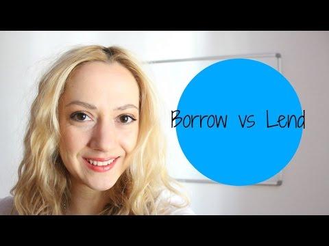 Borrow & Lend || Pozajmljivanje