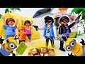 Robbery In The Playmobil Campsite~! Minions Rob The Robbers