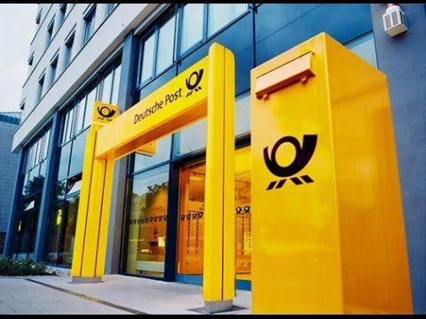 ГЕРМАНИЯ: Как работает почта Германии... GERMANY