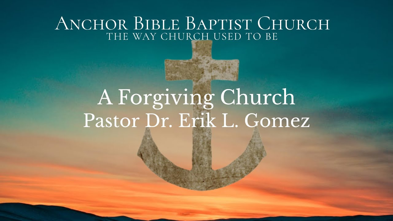 A Forgiving Church