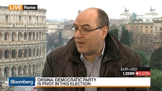 Professor Orsina Says Italy's Election Was an Anti-Establishment Vote
