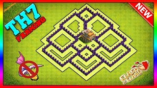 NEW BEST Town Hall 7 Base (FARMING/TROPHY) 2019 | Clash of Clans [Speed Build]