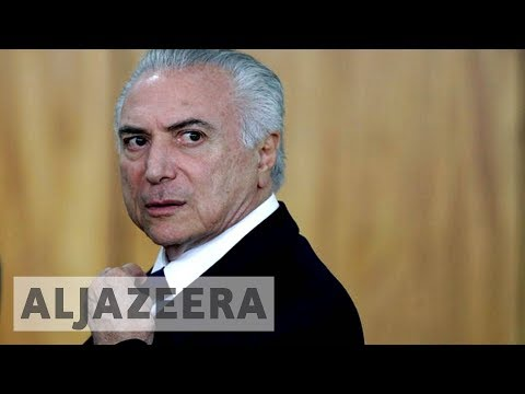 🇧🇷 Brazil's president says corruption charge is 'fiction'