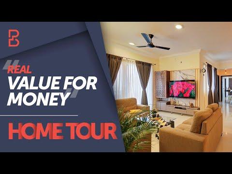 Beautiful Home Interiors Design Of Mr Vinoth Mrs Banupriya Bonito Designs Bangalore Youtube