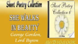 She Walks in Beauty George Gordon, Lord Byron Audiobook Short Poetry