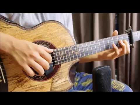 Beauty And The Beast - Acoustic Guitar Cover (Fingerstyle) Arranged By Kent Nishimura