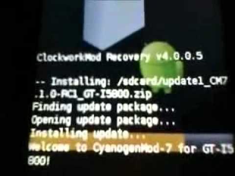 How to Install CyanogenMod 7 on Samsung Galaxy Apollo - GT-I5801 / GT-I5800