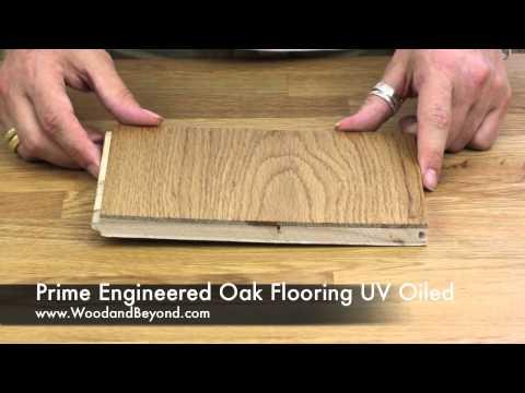 Prime Engineered Oak Flooring UV Oiled