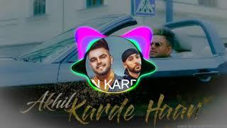 Karde Haan Akhil (DJ song new 2019)