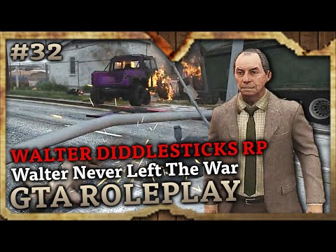 Walter Never Left The War [WALTER DIDDLESTICKS RP] (GTA Role Play Highlights #32)