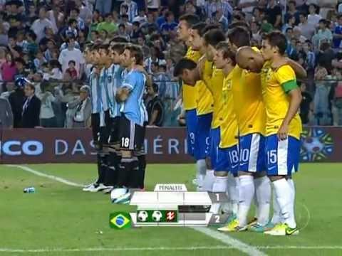 Cobrança de Pênaltis Brasil X Argentina - superclássico das américas 2012