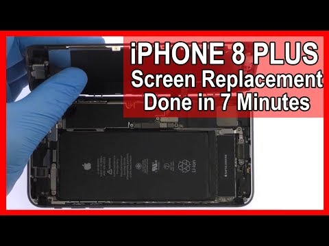 how-to:-iphone-8-plus-screen-replacement-in-7-minutes
