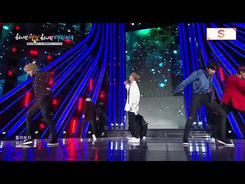 171101 BTS (방탄소년단) -DNA + FIRE @ 2018 Pyeongchang K POP Concert