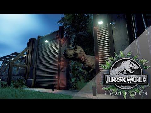 Tyrannosaurus Rex By Moonlight!! 🦕🌿 Jurassic World Evolution
