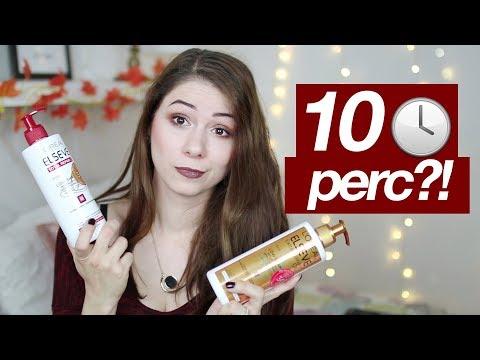 10 perces hajmosás?! | Elseve Low Shampoo teszt | Csillsz