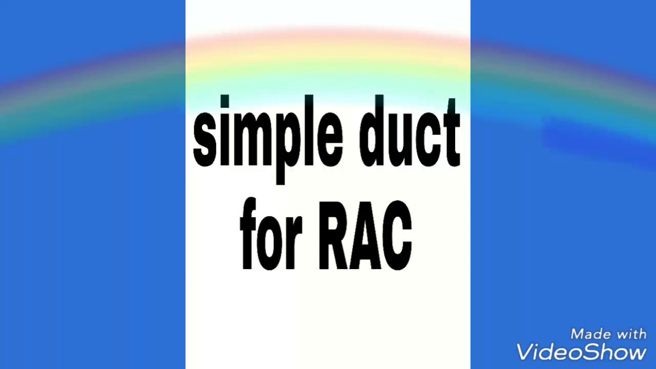 Simple Duct For Rac Free Hand Sketch Of Reciprocating Compressor