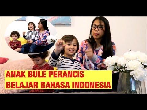 ANAK BULE PERANCIS BELAJAR BAHASA INDONESIA