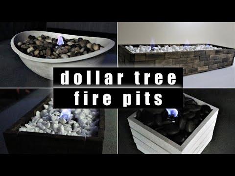 Dollar Tree DIY Tabletop Fire Pits [UNDER $10] 2019