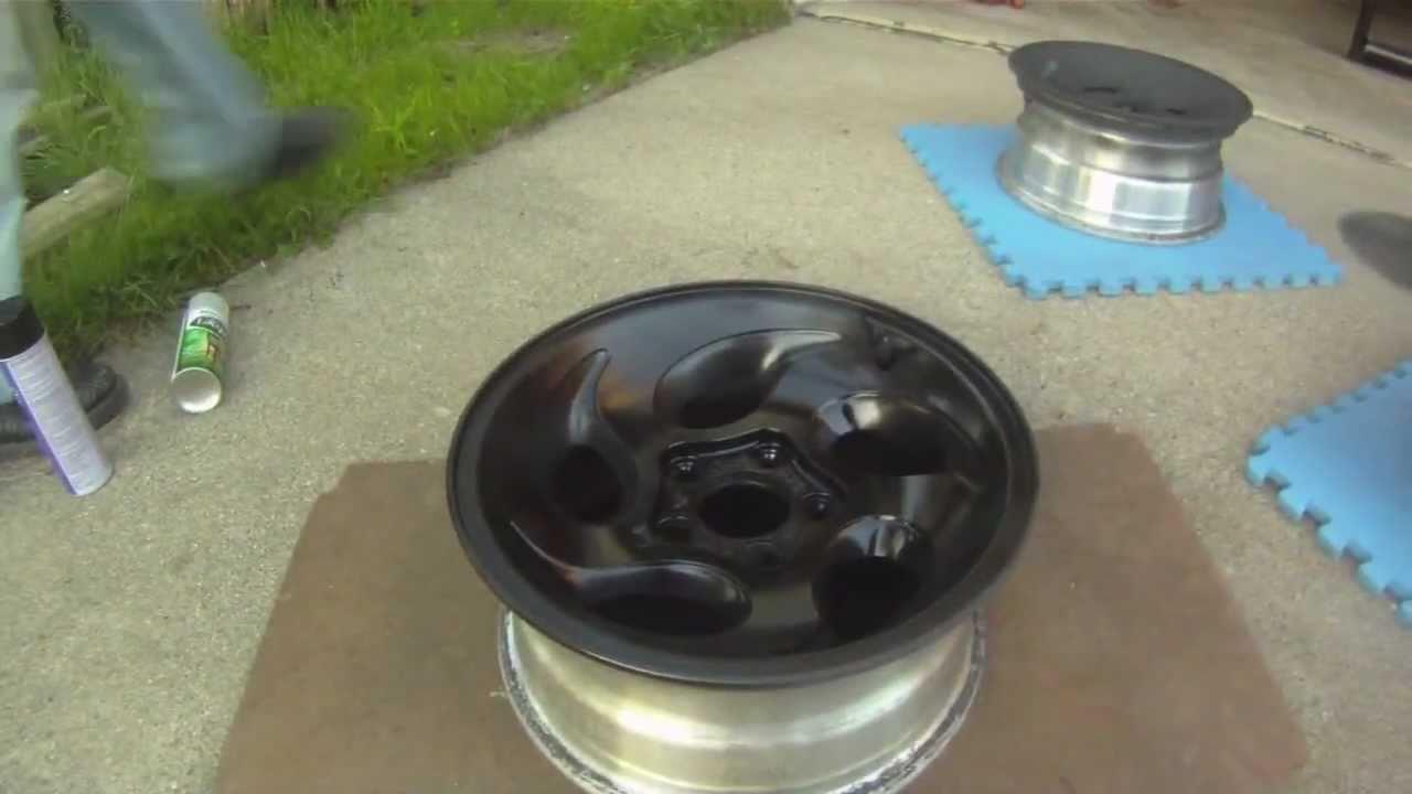 ford explorer painted wheels youtube - Red Ford Explorer Black Rims