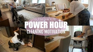 CLEANING MOTIVATION 2018 // NAP TIME POWER HOUR