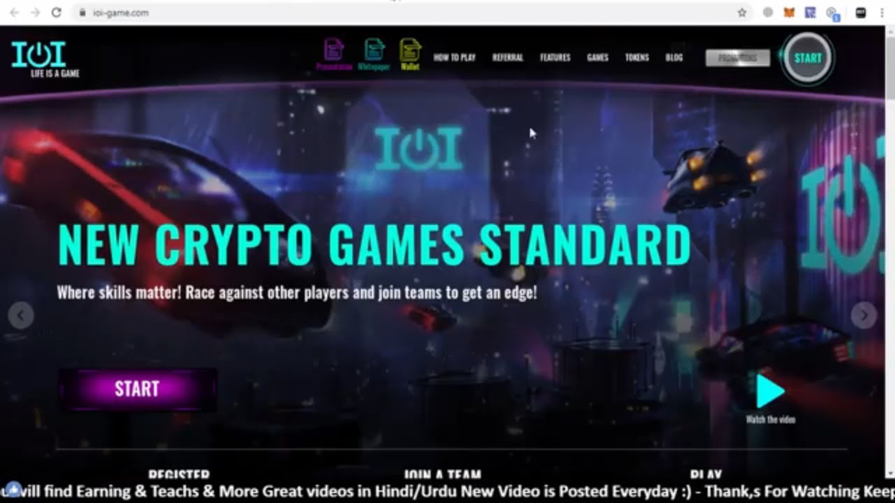 New Crypto Game Standard IOI Game | IOI GAME - 150,000 TRX REWARD SECURED FOR BOUNTY 5