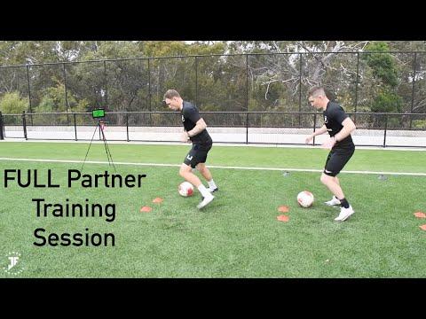 Loads Of Different Partner Training Drills | High Intensity Football Training | Joner Football