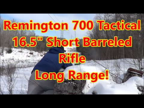 Remington 700 tactical for long range?