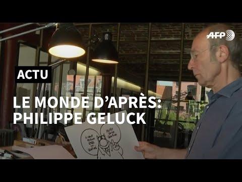 AFP: Le monde d'après: Philippe Geluck espère