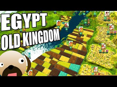 BUILDING THE EGYPTIAN EMPIRE! NEW CITY BUILDER - Egypt Old Kingdom Gameplay