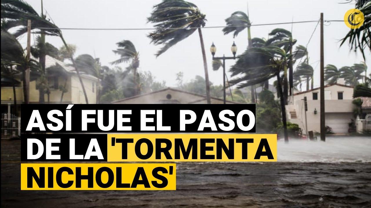TORMENTA NICHOLAS: Su paso causa daño materiales y deja sin energía a 450.000 hogares en Texas